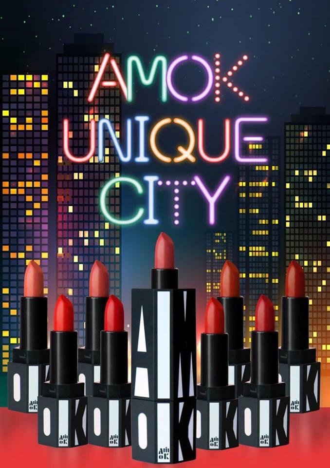 Son Lì Amok Unique City Technical Matte Lipstick