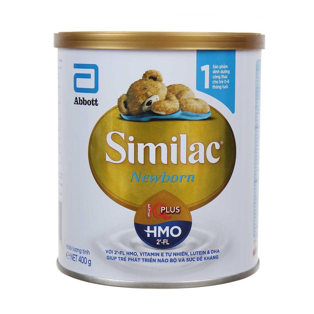 Sữa Similac Newborn IQ HMO 400g