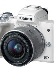 Máy ảnh Canon EOS M50 + KIT 15-45MM (Trắng)