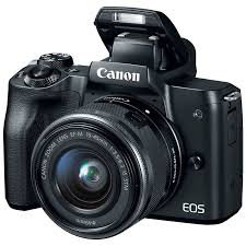 Máy ảnh Mirrorless Canon EOS M50 + Kit 15-45mm