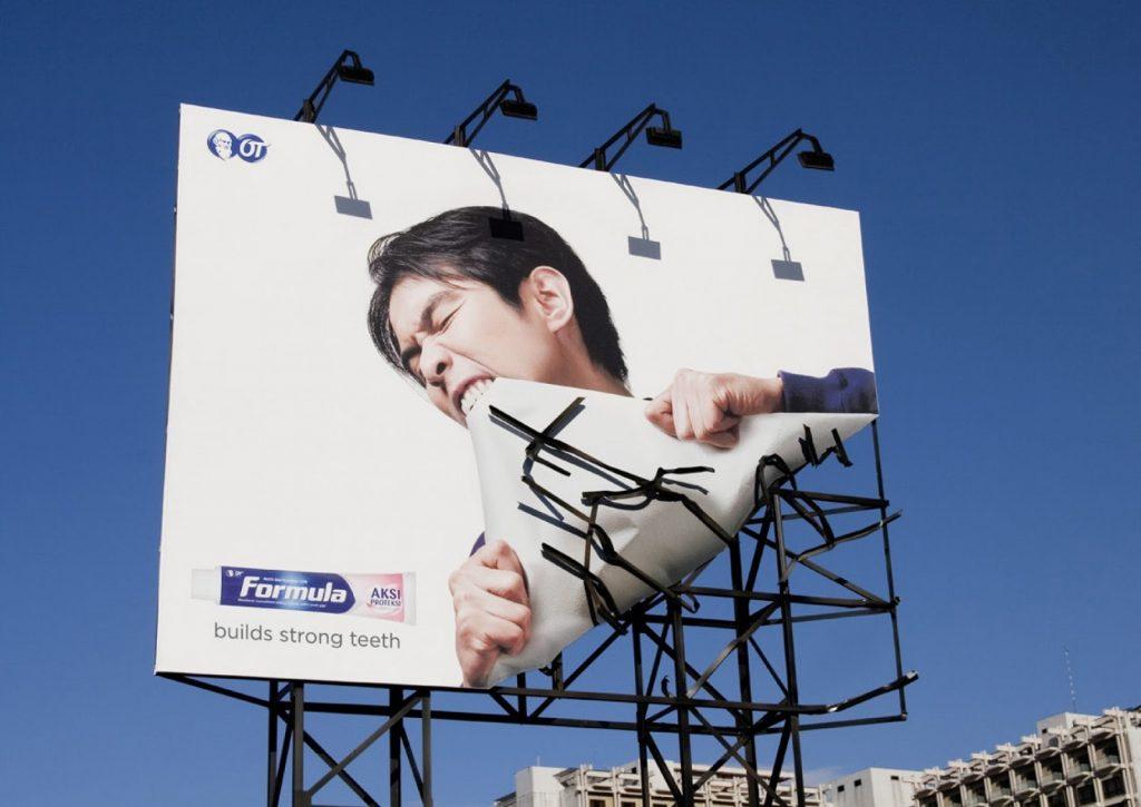 Ý tưởng quảng cáo ngoài trời